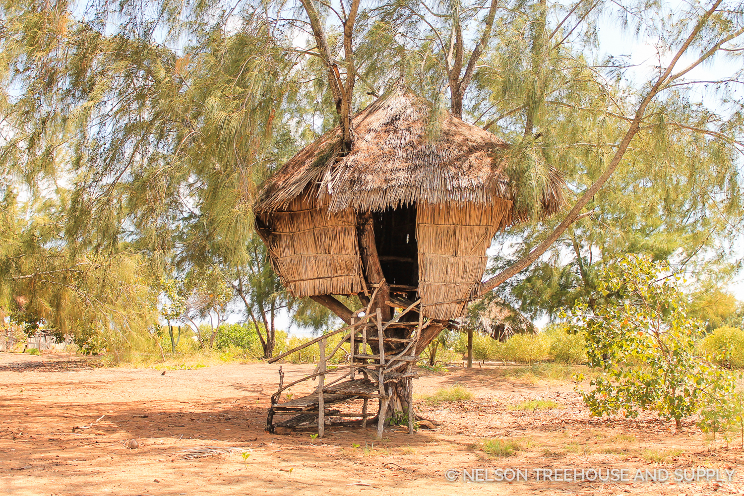 The One Love Island Treehouse in Kenya. Photo by Dylan Rauch.
