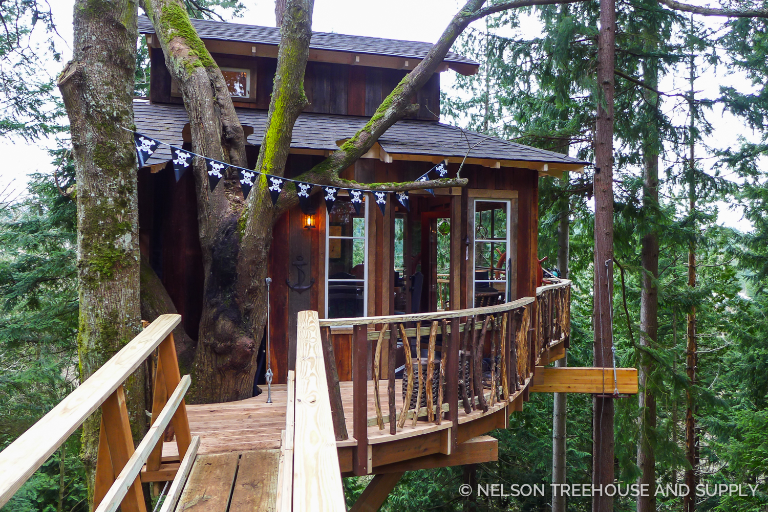 Nelson Treehouse Pirate Hideout