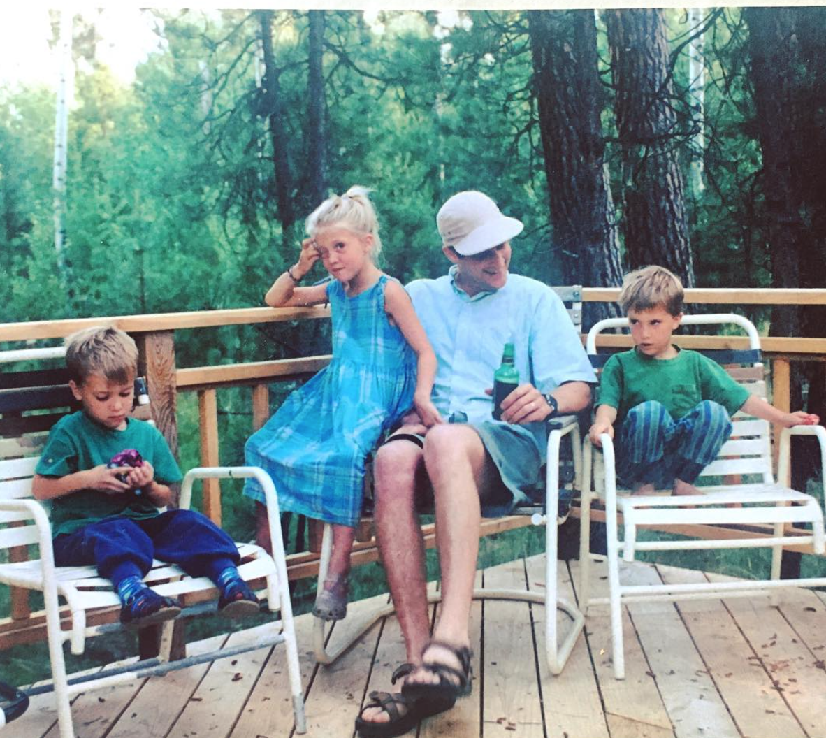 Left to Right: Charlie, Emily, Pete, and Henry. Photo Courtesy of the Nelson Family.
