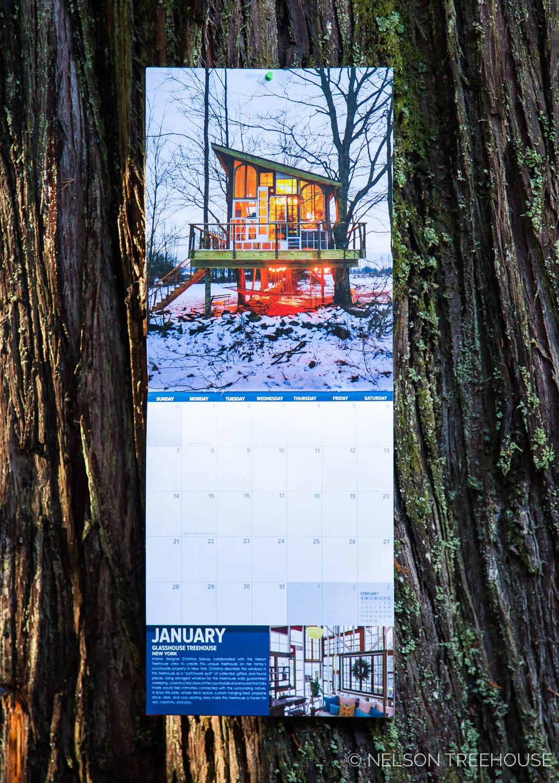 Pete Nelson 2018 Treehouse Calendar