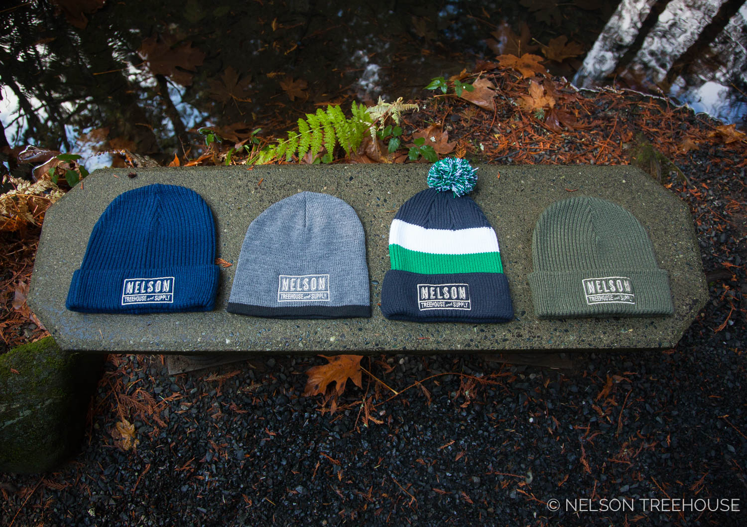 Nelson Treehouse beanies