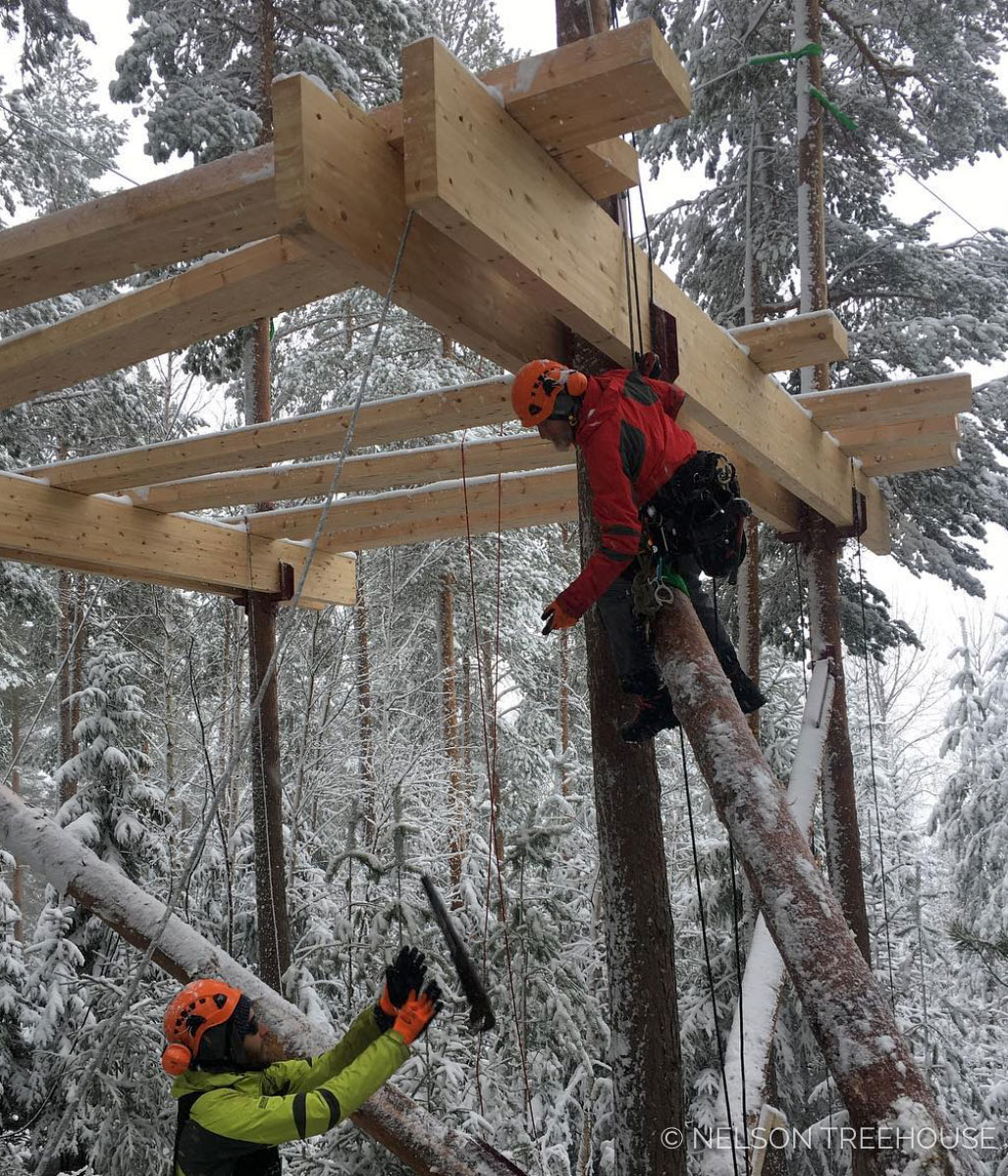 Building in Norway with my crew was a really meaningful experience.