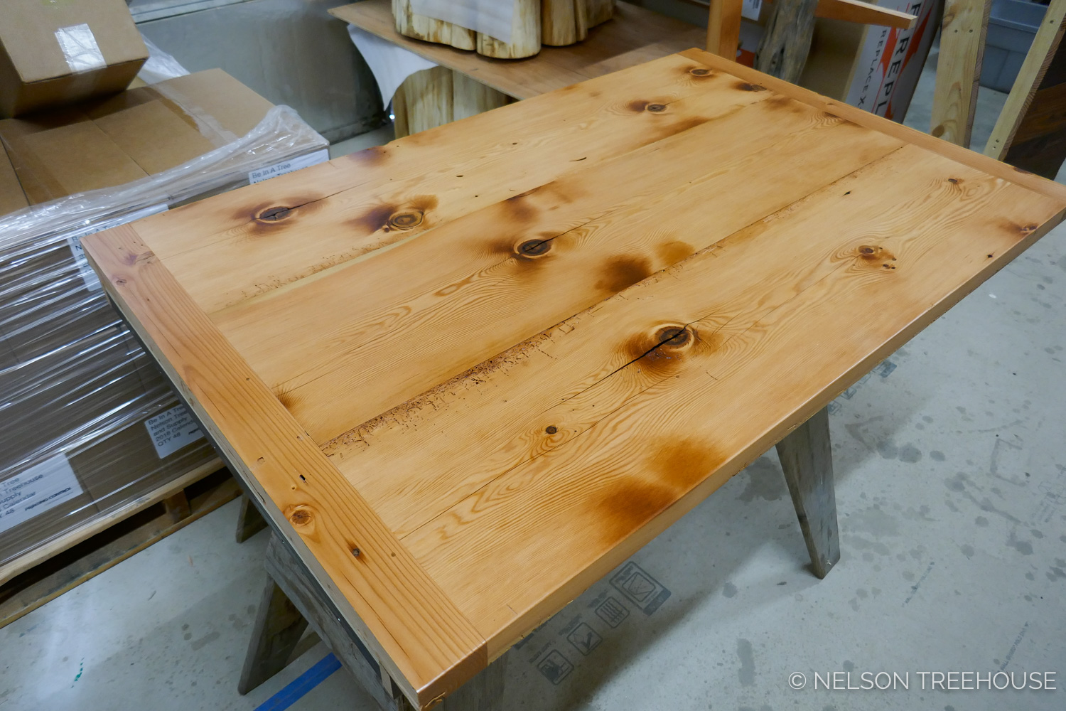 Custom Built-in dining table