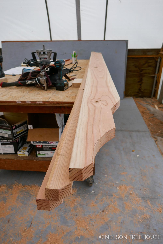 Nelson Treehouse Prefab for Treehouse Utopia - custom details