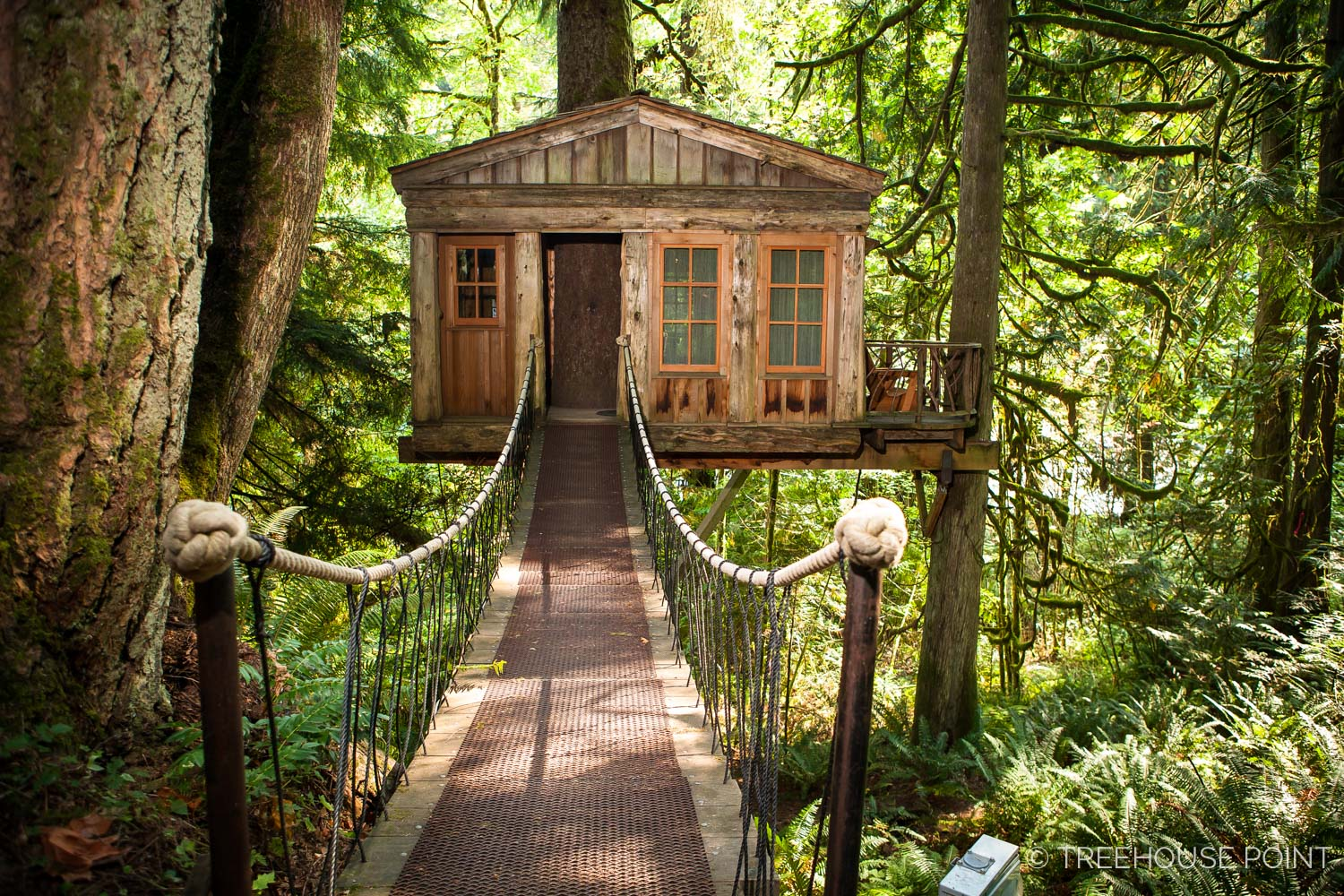 Guide To Staying At Treehouse Point Nelson Treehouse