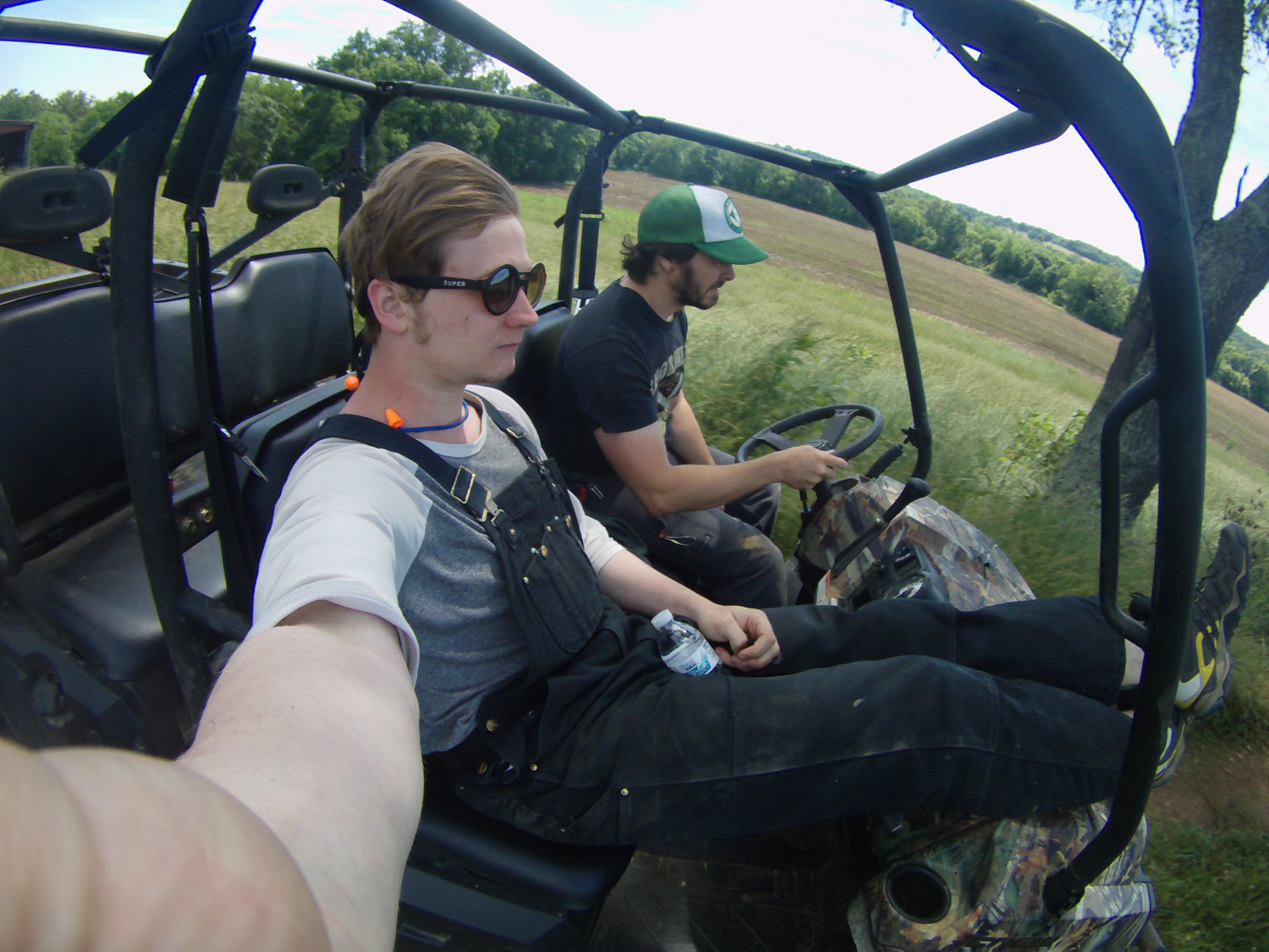 Garrett and   Seanix   bonded while in tennessee.