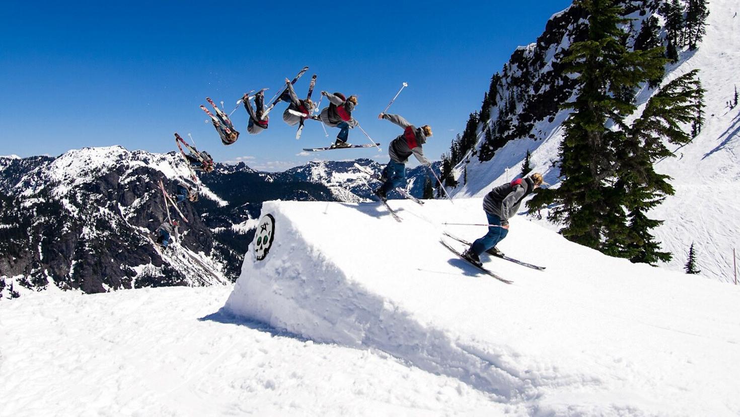 Garrett skiing. photo by Alexander murzikov.