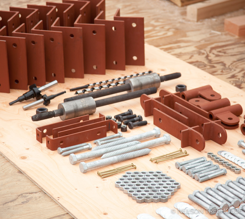 Hardware kit for the heavy-duty marblemount.