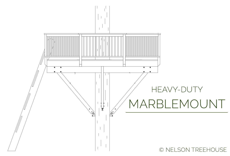Nelson Treehouse Marbelmount Plan for DIY-Builders