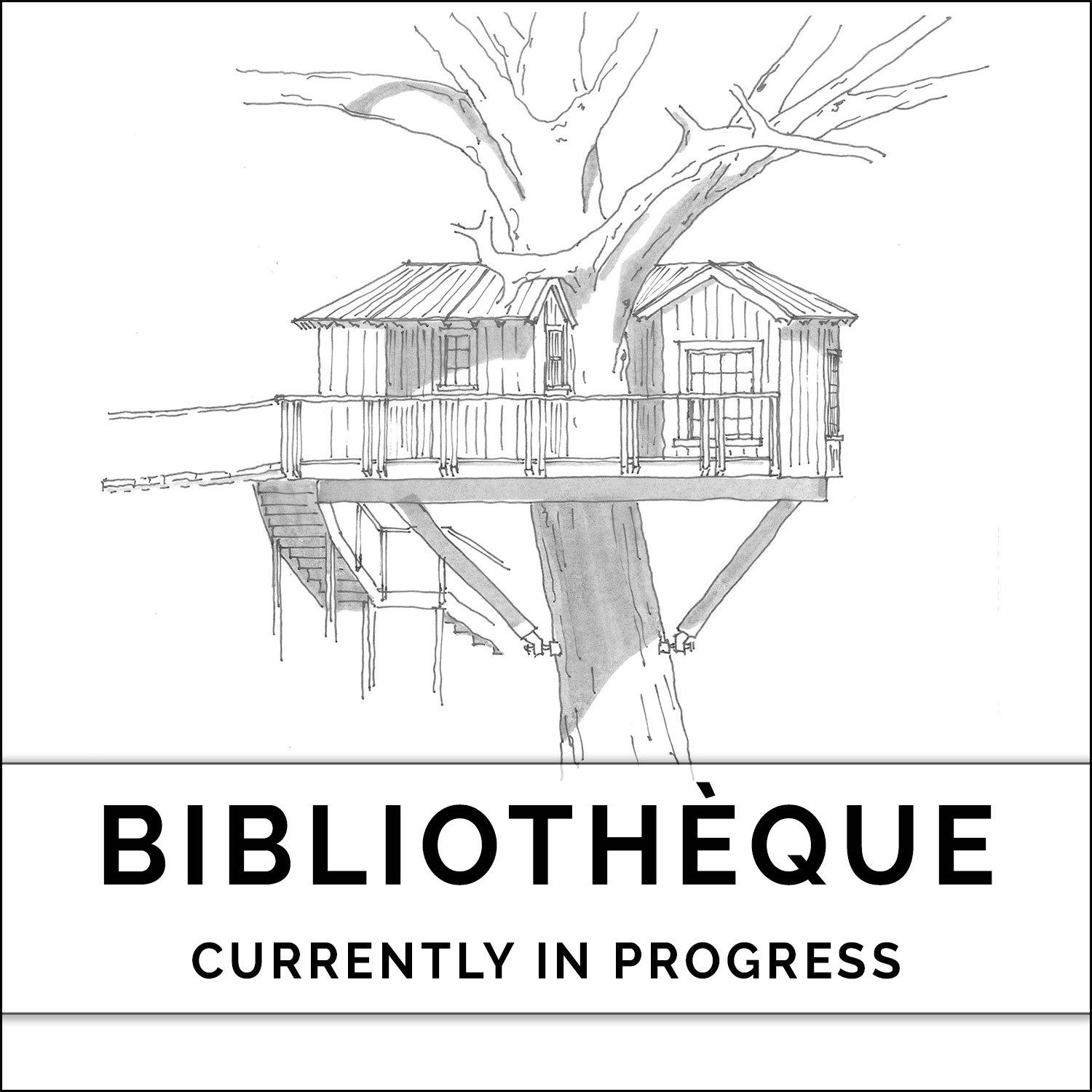 Bibliotheque at Treehouse Utopia