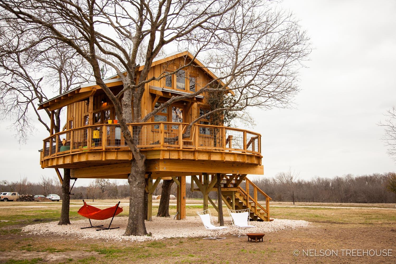 Nelson Treehouse - Twenty-Ton Texas Treehouse base