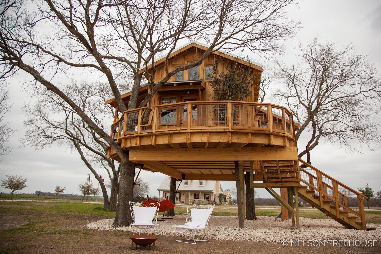 Nelson Treehouse - Twenty-Ton Texas Treehouse below deck