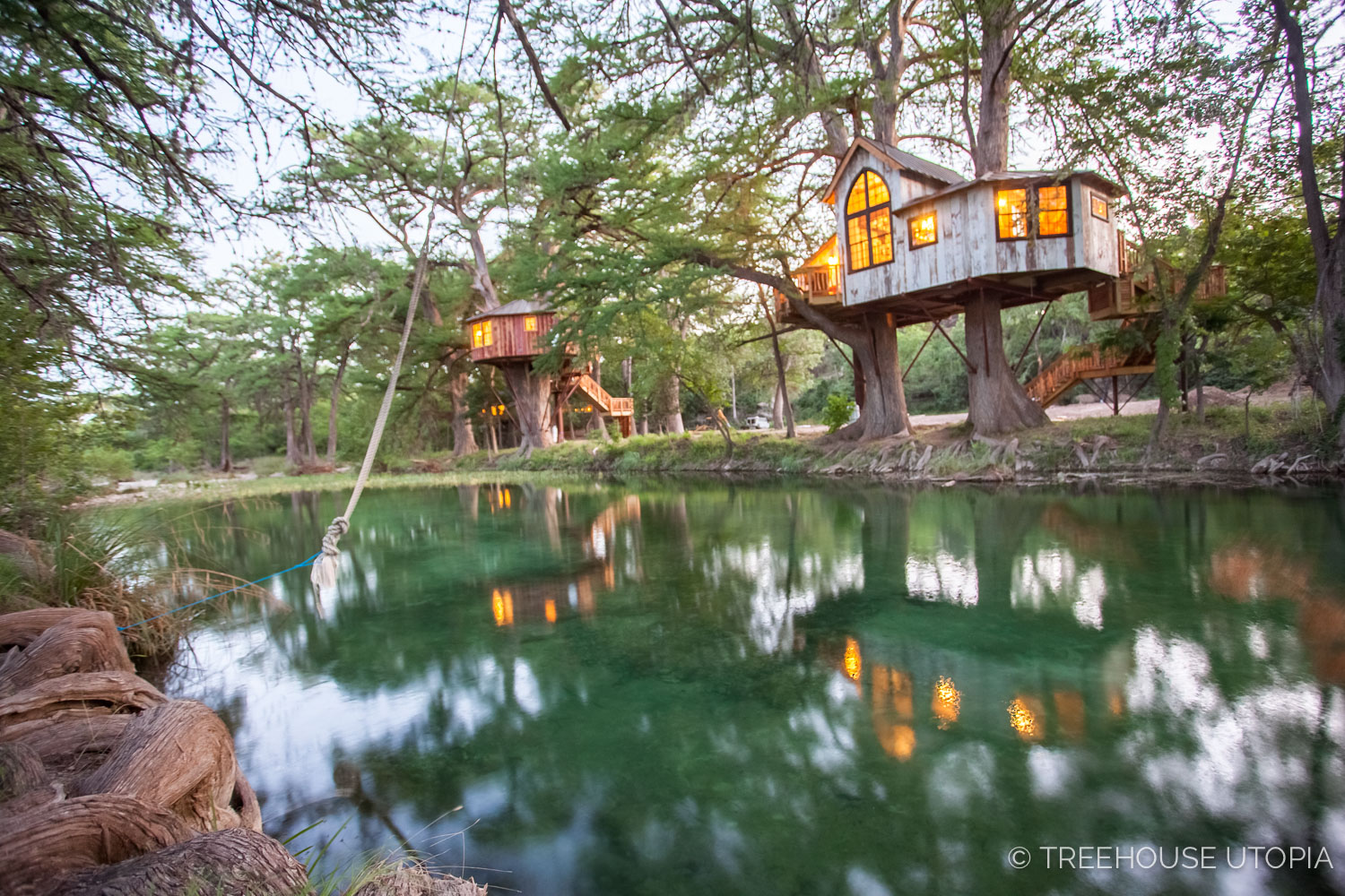 Treehouses at Treehouse Utopia