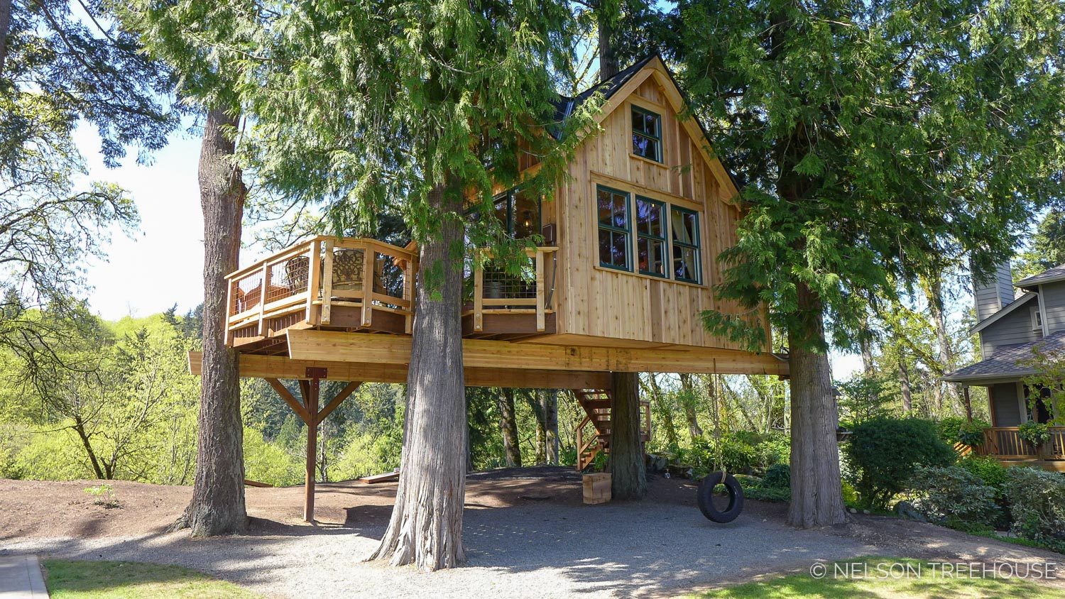 Hot Tub Treehouse - Nelson Treehouse