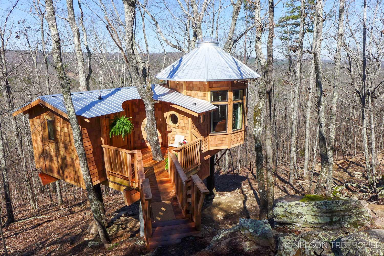 Super Spy Treehouse - Nelson Treehouse 2018 - Facade
