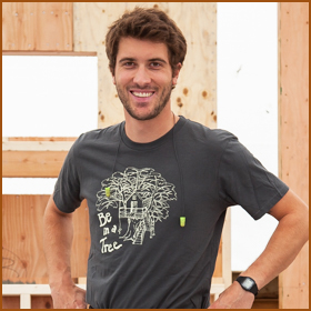 Henry Nelson  Carpenter     After being refined at various educational institutions for the past few years, Henry, twin of Charlie, is has officially busted onto the treehouse scene! A key member of the travel team, and a night crew regular, Henry is quickly mastering building in the trees. Tasked with building all of the compostable toilets used in the treehouses, he is known for his signature Hank Tanks. When Henry is not busy swinging a hammer you can probably find him hucking a Frisbee out in the backyard, or sporting a backpack and exploring the great Pacific Northwest.     Read Henry's Staff Spotlight here.     Follow Henry at    @henry__nelson