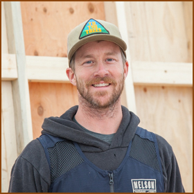 Patrick Willse    Patrick hails from tropical Cleveland, Ohio, and brings years of construction experience to the NT&S team. Patrick's first construction job entailed transforming a tired old building in his hometown of Rocky River into an artful brew pub. He went on to build skate ramps and run his own residential construction business specializing in outdoor living spaces. Patrick got hooked on the treehouse life by building a treehouse for his nieces and nephews. After meeting Pete at a local treehouse build in Ohio, Patrick relocated to the Pacific Northwest and joined the NT&S team. The company has brought Patrick more than a dream job: it also brought him to Emily, his now-wife! Patrick and Emily welcomed their son, Douglas, to the treehouse life in January 2019!    Follow Patrick at    @patrickwillse