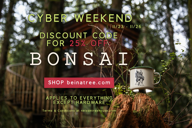 Cyber Weekend Sale at beinatree.com 11/23 - 11/26
