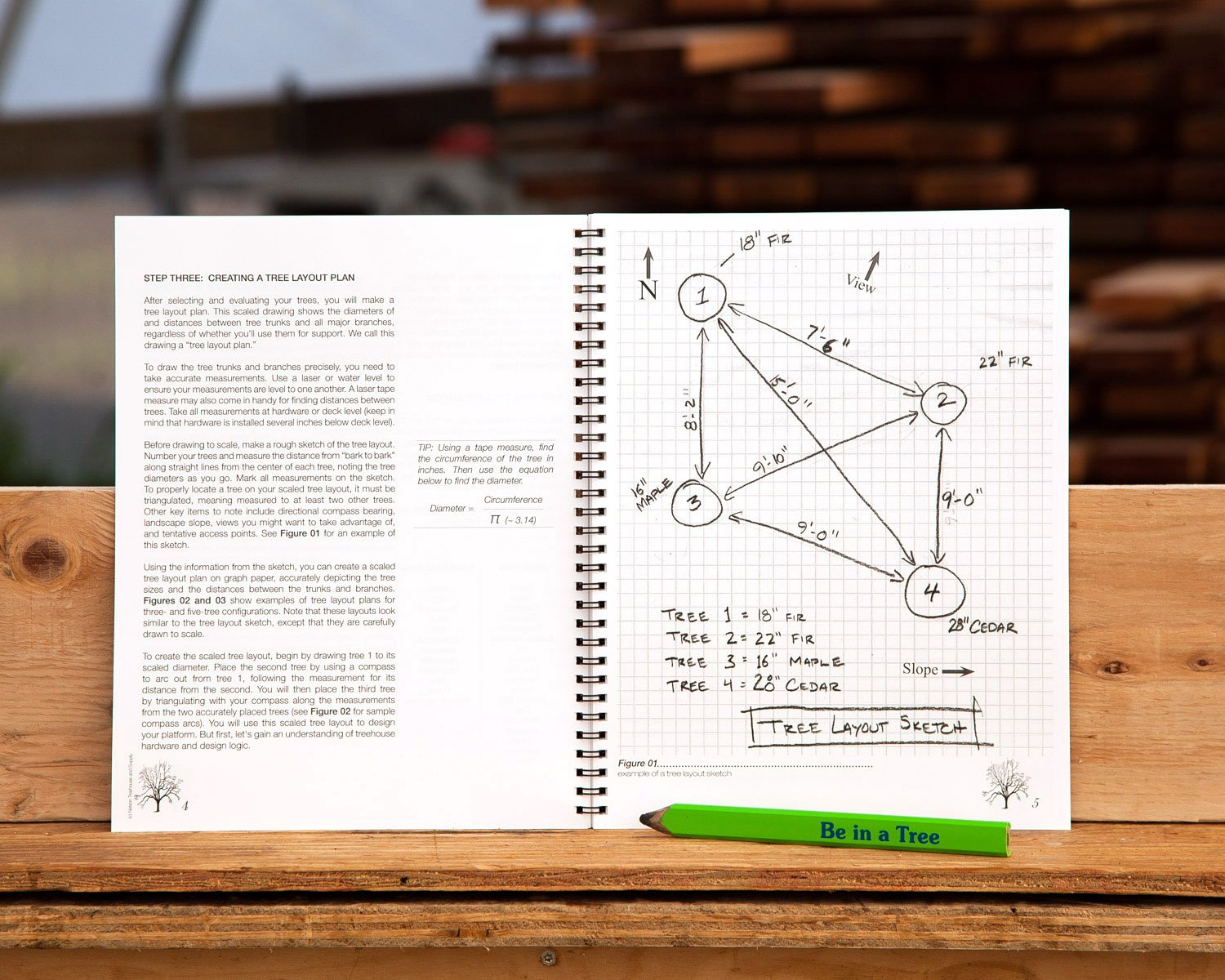 Our second edition of  treehousing: the instructional guide