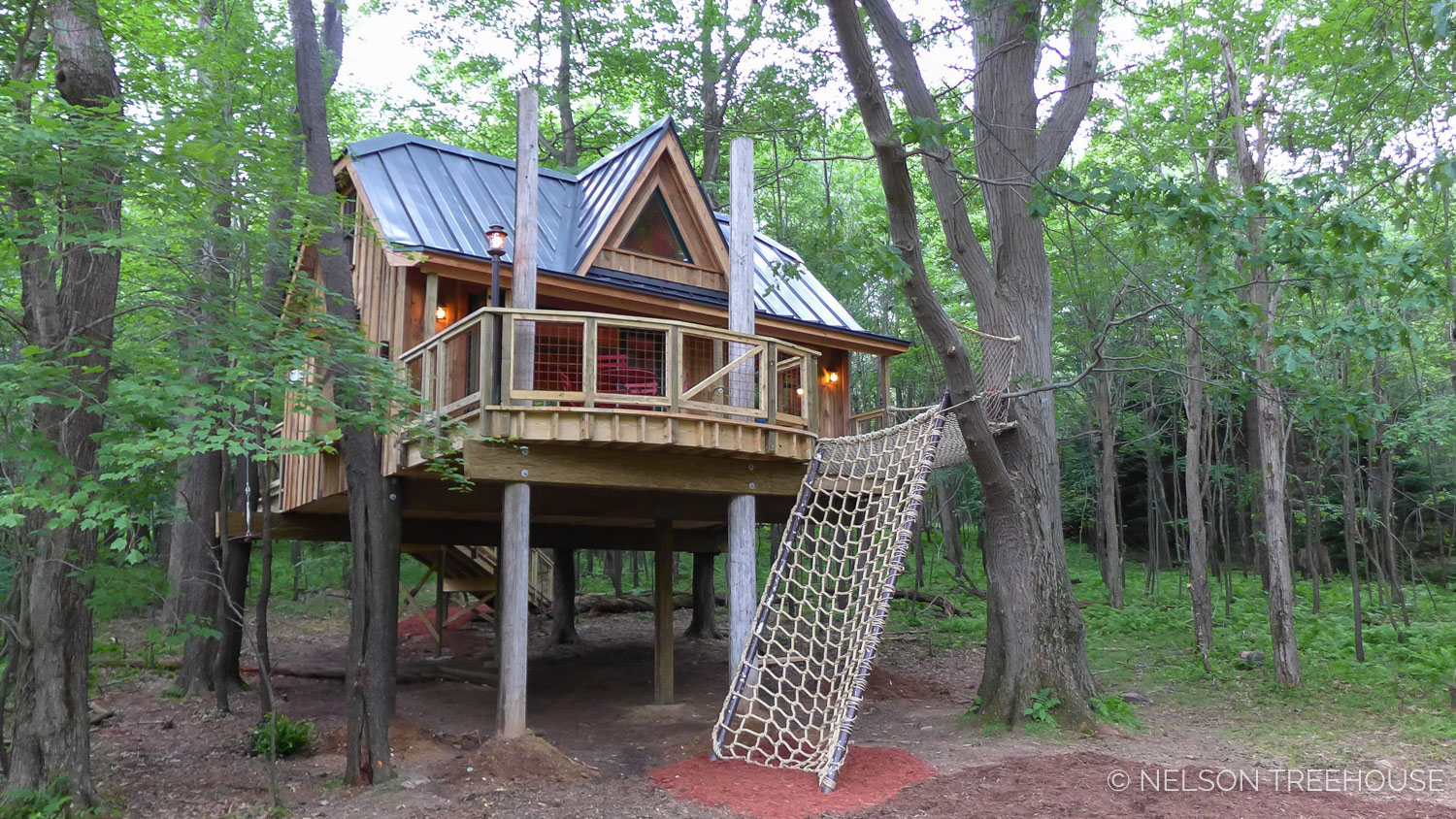 It was an honor to build a  treehouse for the semper Fi kids camp  this year