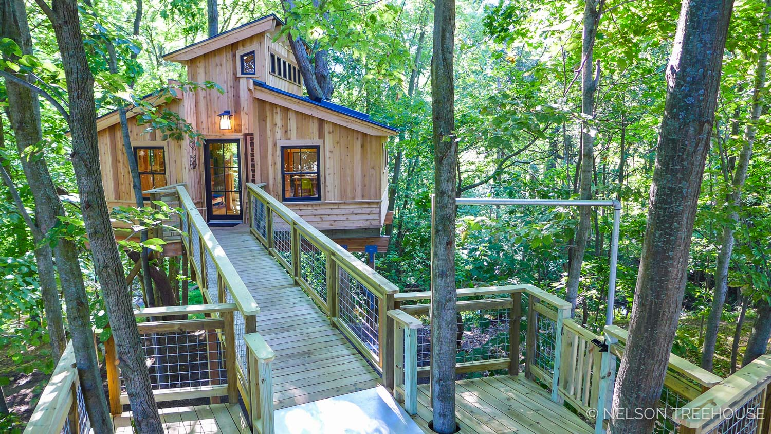 For-Mar Nature Preserve TreehousE - Genesee County Parks, Mi