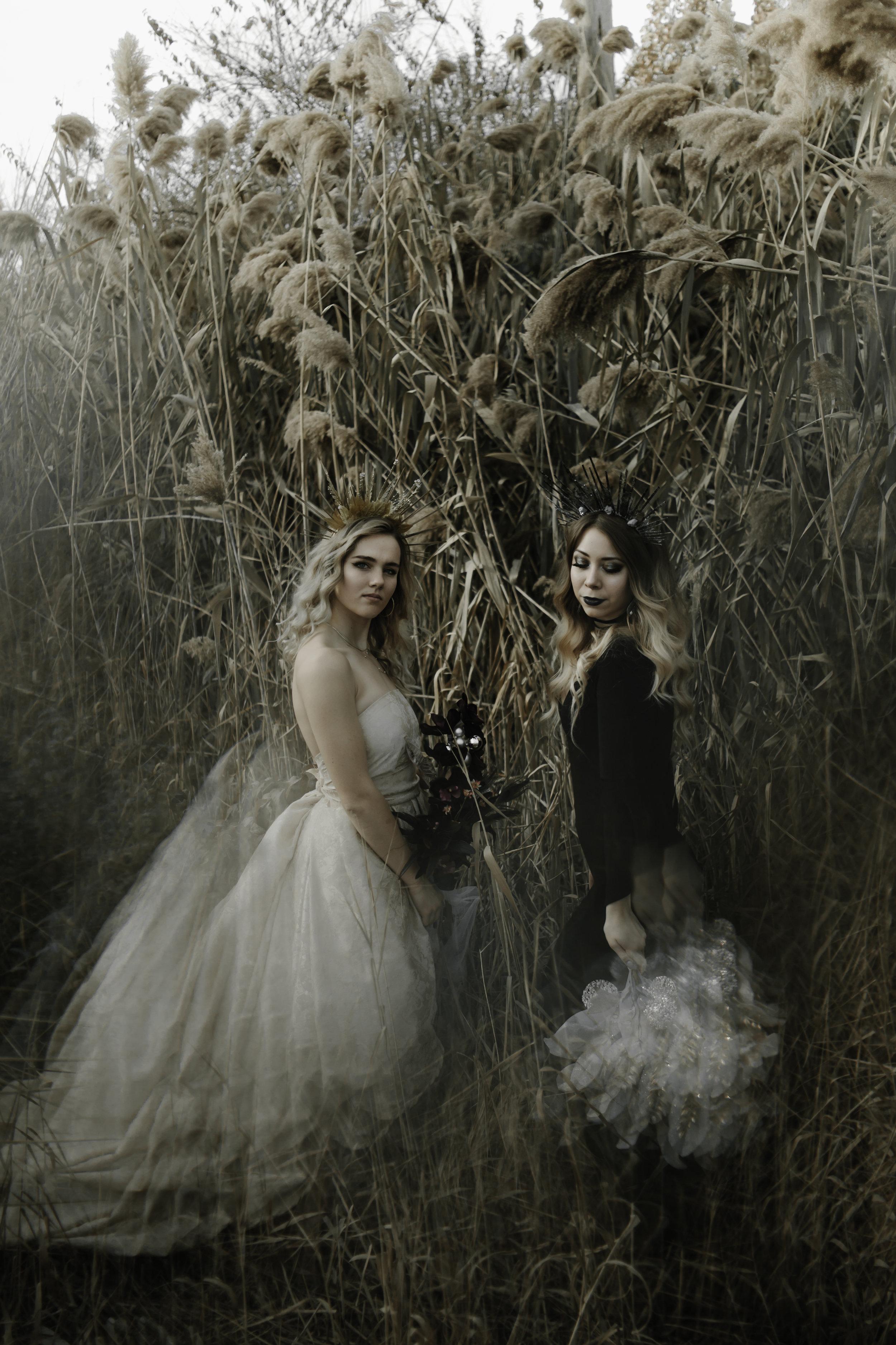 Models: Grace Jeffries & Naomi Perkins