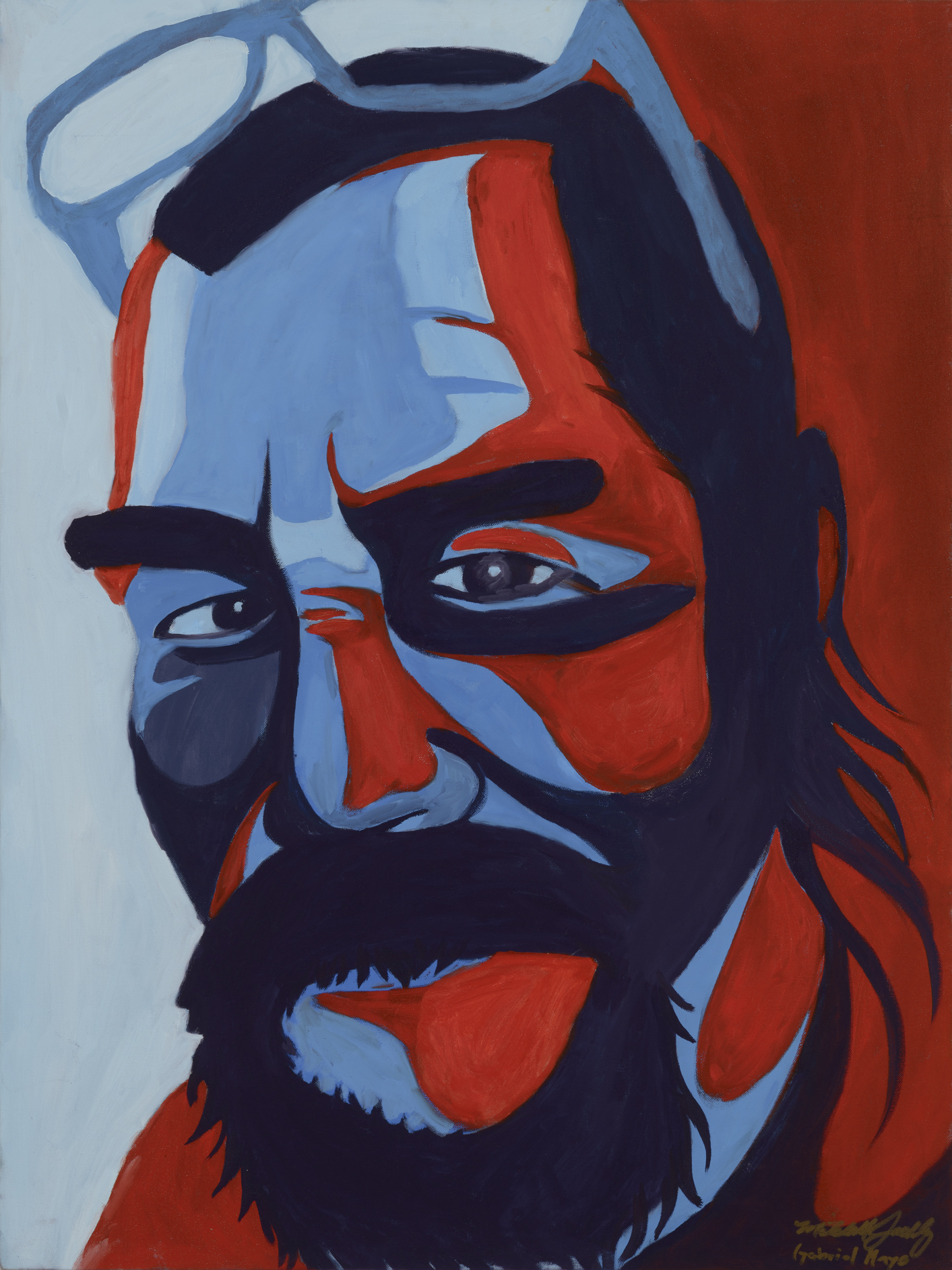 """Mitchell Painted by Gabriel Oil on Canvas, 30""""x40"""" $800"""