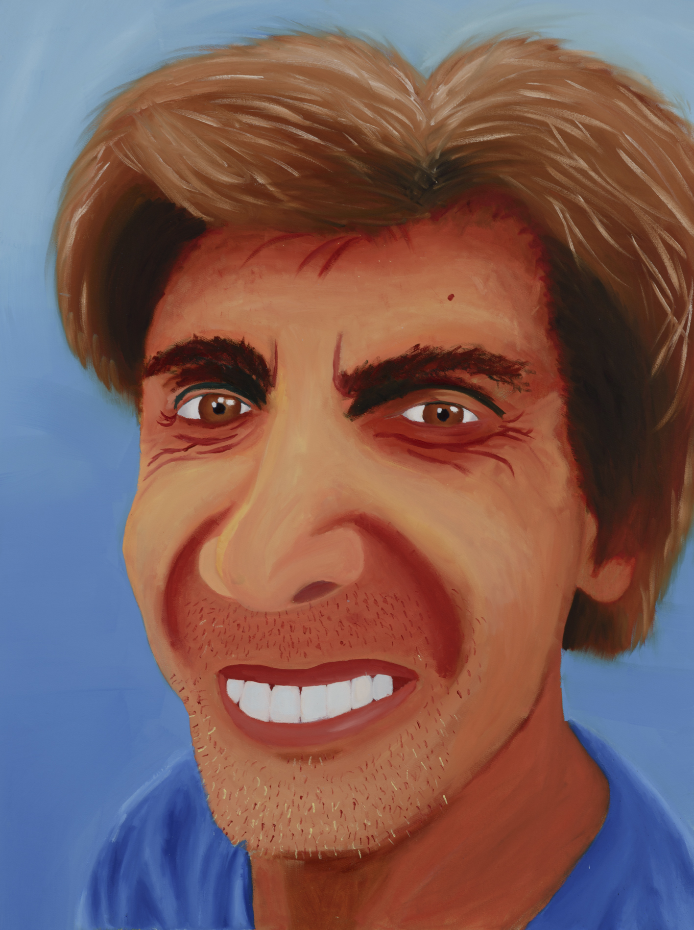 """Ruben Mora Painted by Vanessa Oil on Canvas, 30""""x40"""" $800"""
