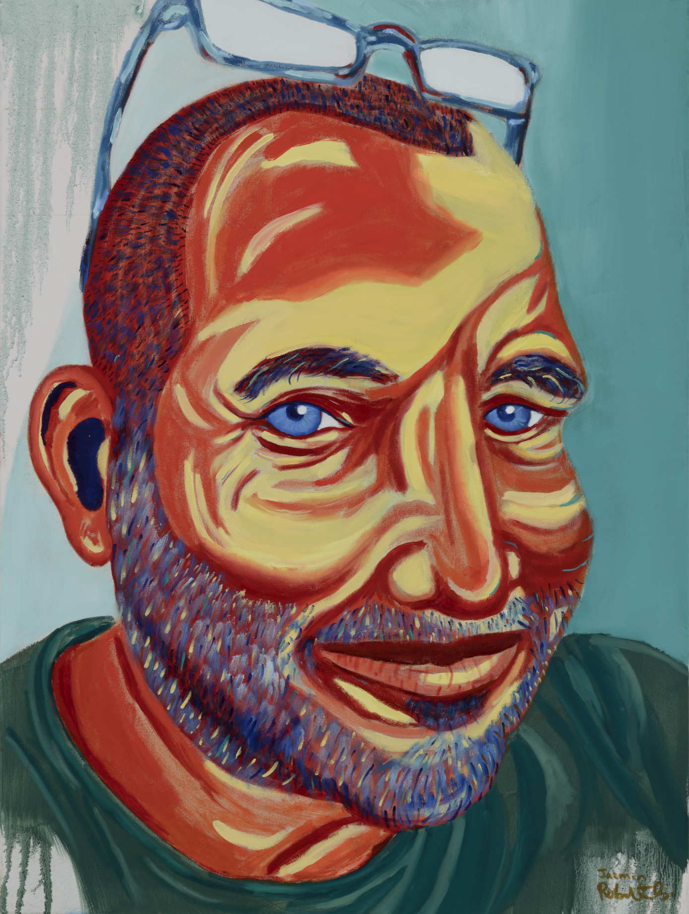 """Robert Blanchard Painted by Jazmin Oil on Canvas, 30""""x40"""" $800"""
