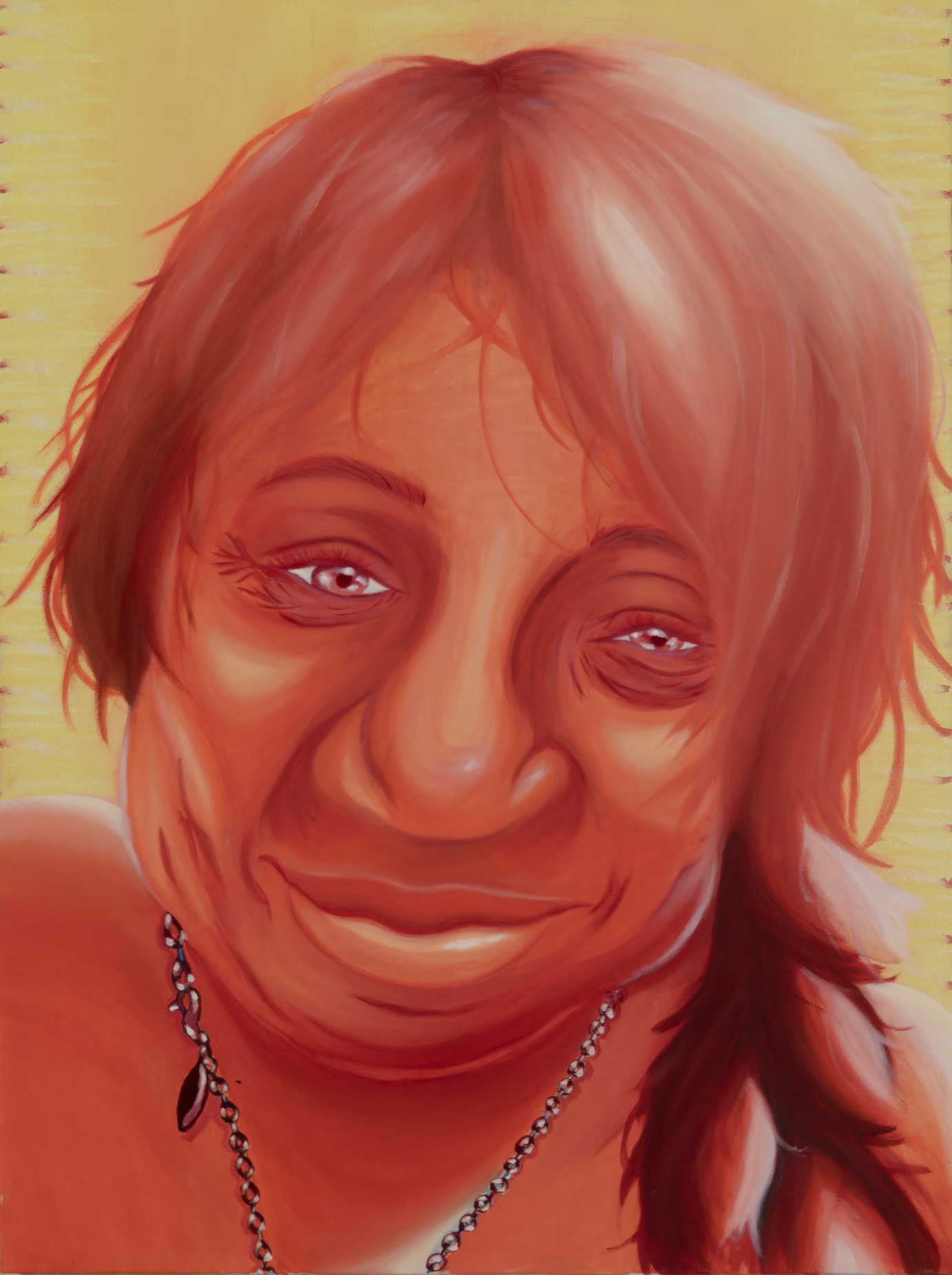 "Sonia Larry Painted by Maria Oil on Canvas, 30""x40"" $800"
