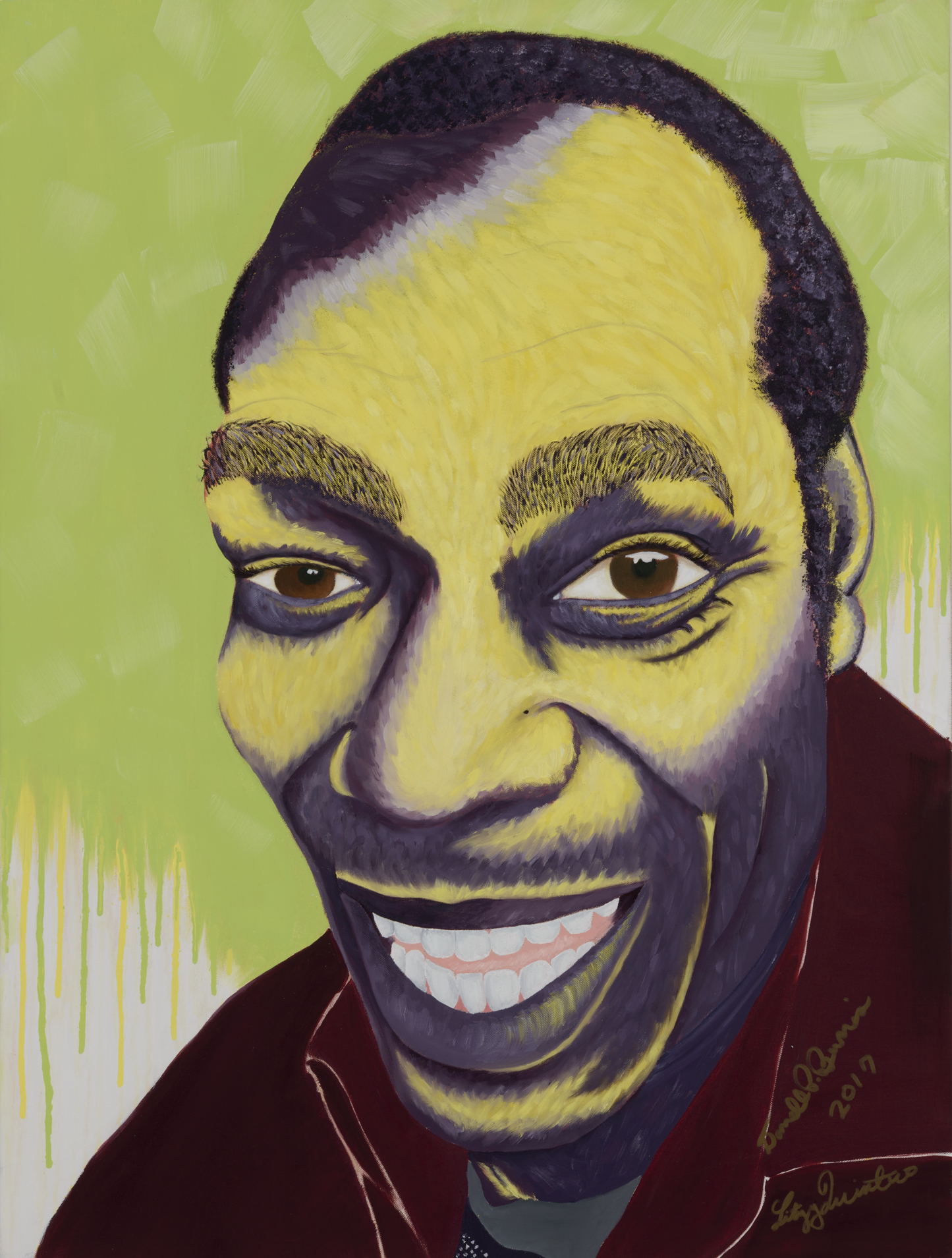 """Darrell Painted by Litzy Oil on Canvas, 30""""x40"""" $800"""