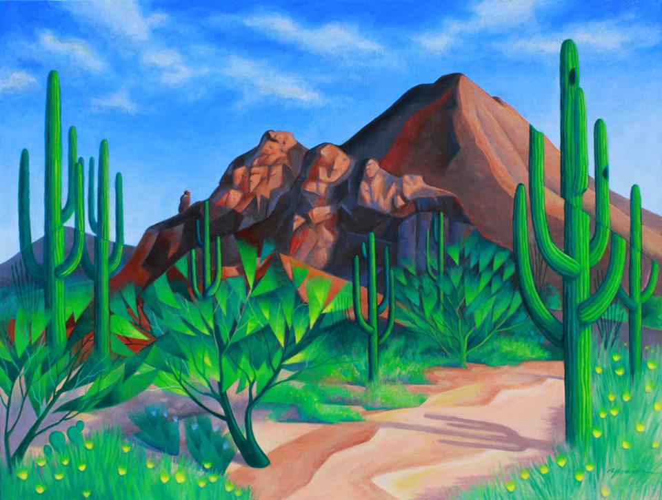 West of Camelback Mountain