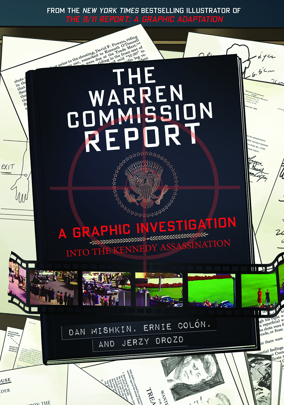 """Flatting     Within days of the murder of President John F. Kennedy,  Lyndon B. Johnson appointed a seven-member commission to investigate the assassination. In its report, the Warren Commission determined that there was """"no credible evidence"""" conflicting with its conclusion of a lone gunman. Artist Ernie Colón, bestselling illustrator of  The 9/11 Report: A Graphic Adaptation , teams up with author Dan Mishkin to provide a unique means of testing the commission's findings, unraveling conflicting narratives side by side through graphic-novel techniques.  The Warren Commission Report: A Graphic Investigation into the Kennedy Assassination breaks down how decisions in the days that followed the assassination not only shaped how the commission reconstructed events but also helped foster the conspiracy theories that play a part in American politics to this day."""