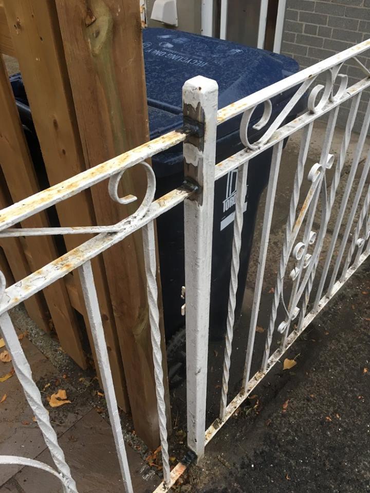Metal Fence/Railing Repair