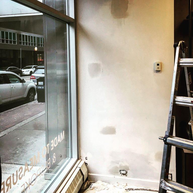drywall plaster repair fix it friend handyman toronto