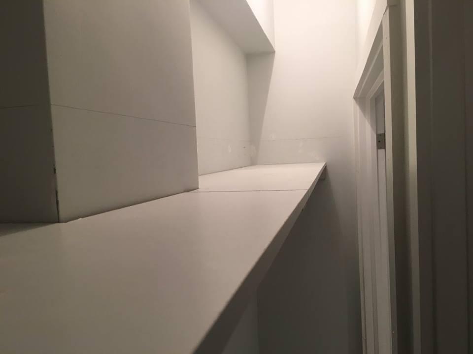Closet Organization and Shelf Installation