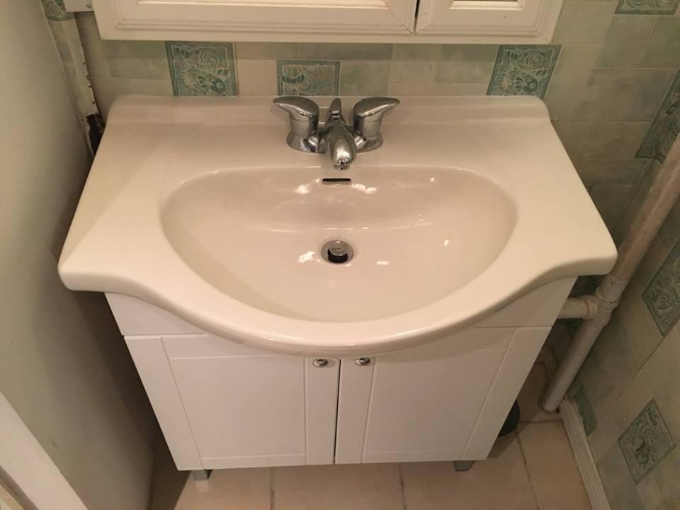 vanity install upgrade repair fix it friend handyman toronto