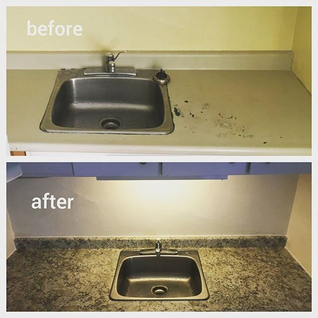 counter top upgrade removal install fix it friend handyman toronto