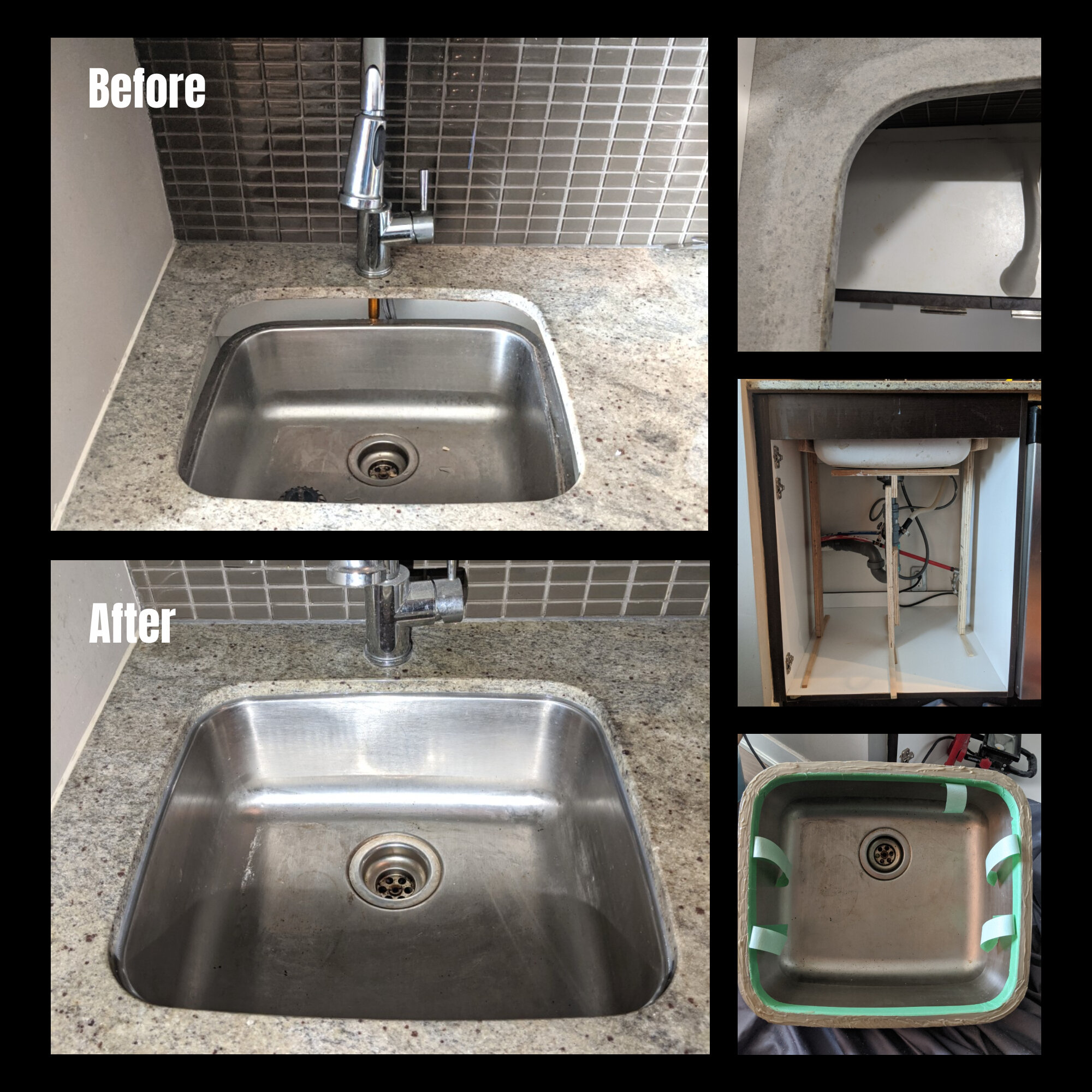 Sink And Undermount Sink Installation And Repair Fix It Friend Handyman Services In Downtown Toronto