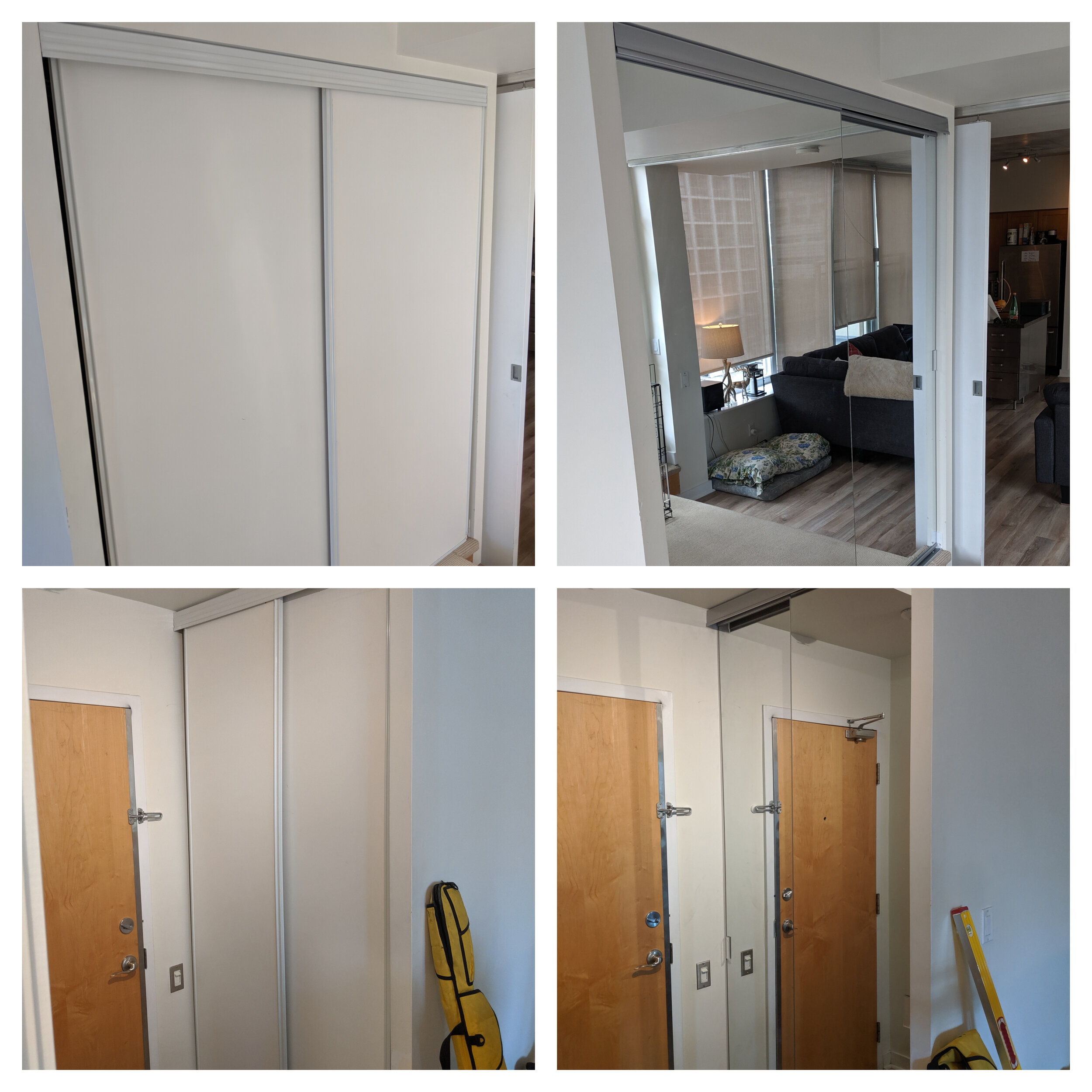 Sliding Closet Doors Installation And Repair Fix It Friend Handyman Services In Downtown Toronto