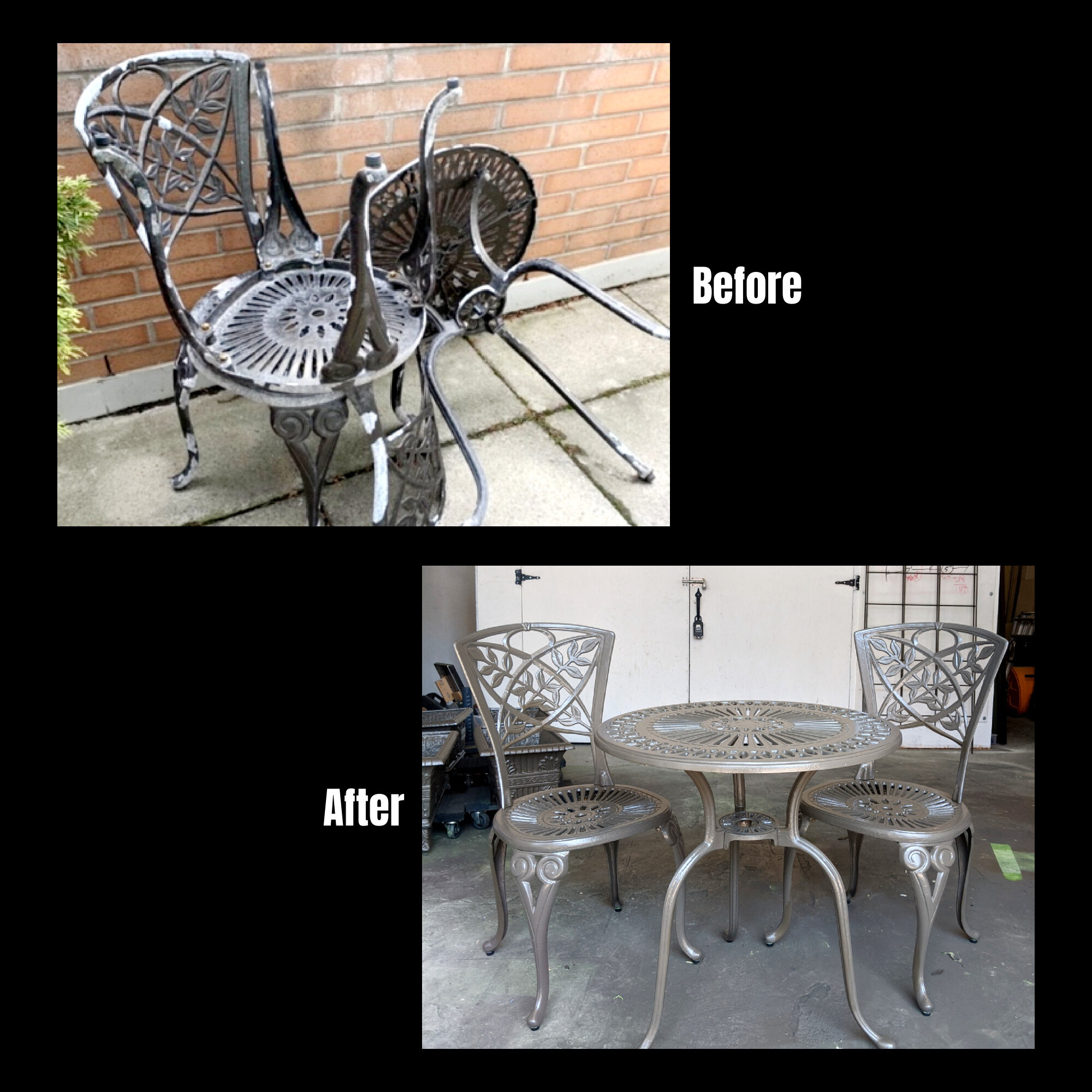 Patio Furniture Refinishing — Fix-It Friend  Handyman Services in