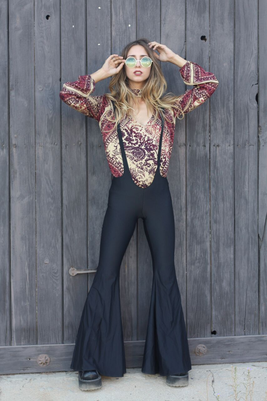 Suspender pants by LBD, top by T&T, glasses by Modern Gypsy