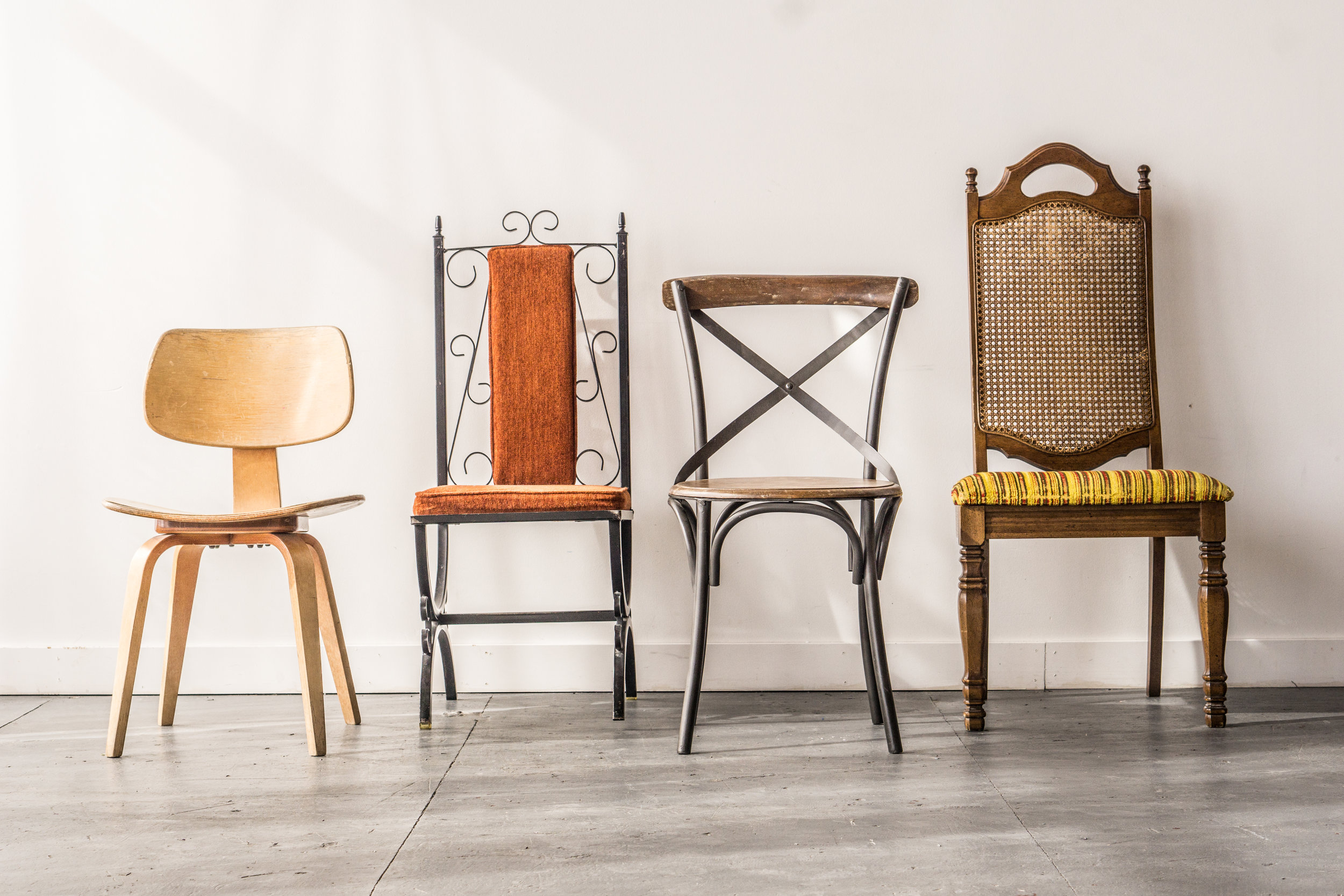 Vintage Chairs (choose up to 4)