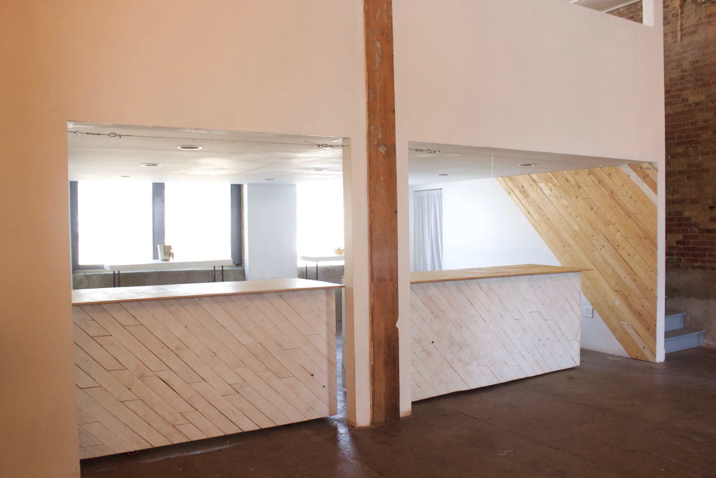 Wooden Mobile Bars (Spark or Full Venue only)