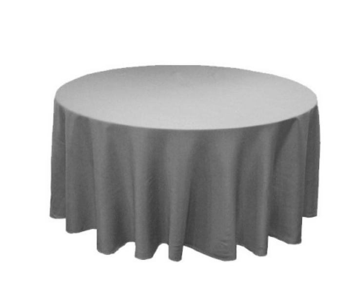 Round Table Linens (30+ colors)