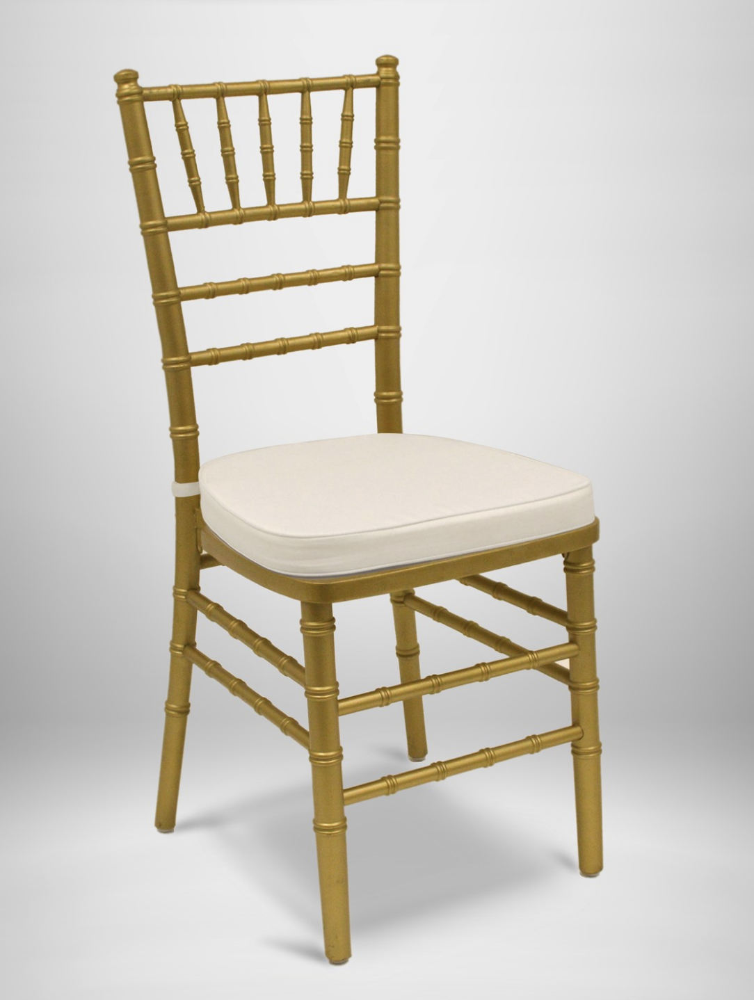Gold Chiavari Chairs with Pads
