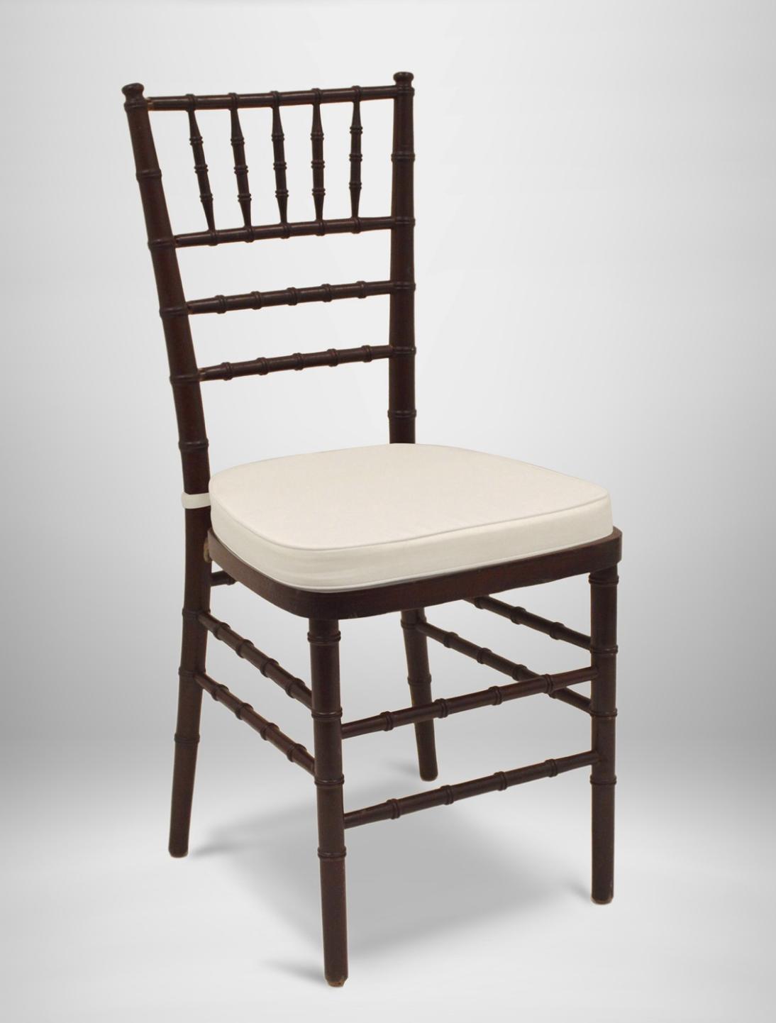 Fruitwood Chiavari Chairs with Pads