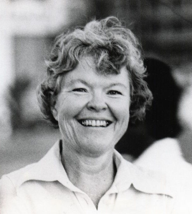 Marion Naifeh in Abu Dhabi, mid 1970s.