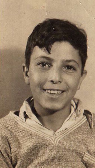 Marion Naifeh's husband George as a young boy.