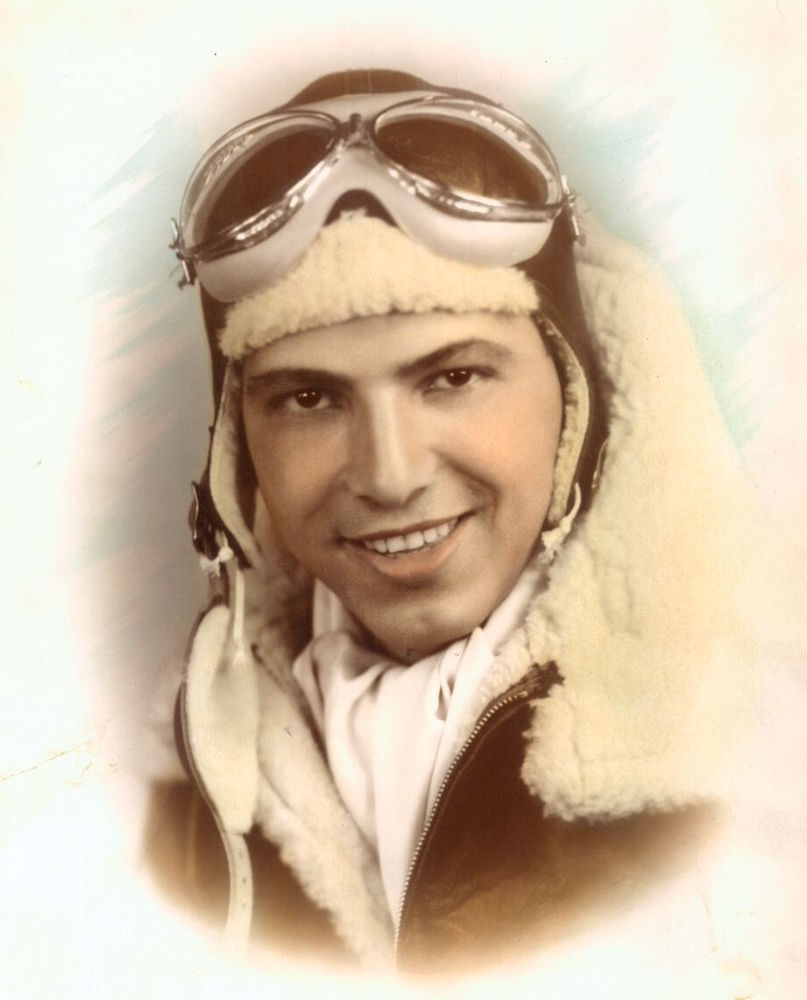George in the Army Air Force in World War II.
